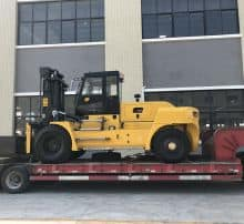 XCMG 16 ton counterweight diesel forklift HNF-160 China new heavy duty forklift
