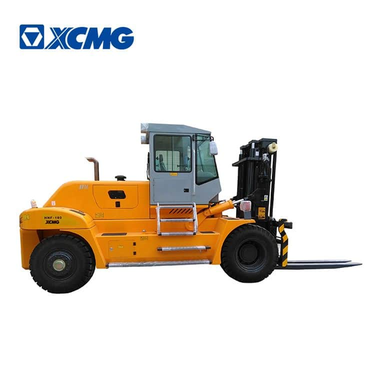 XCMG heavy duty forklift HNF-180 China new 18 ton counterweight diesel forklift
