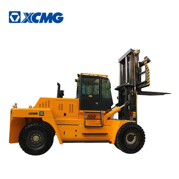 XCMG 20 ton large heavy duty forklift HNF-200 with Cummins engine and CVT transmission