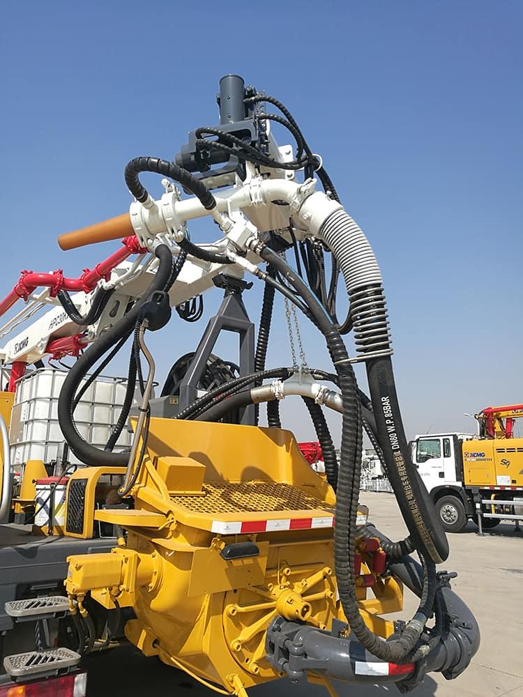 XCMG Schwing truck mounted concrete shotcrete spraying machine HPC30KI with HOWO chassis price