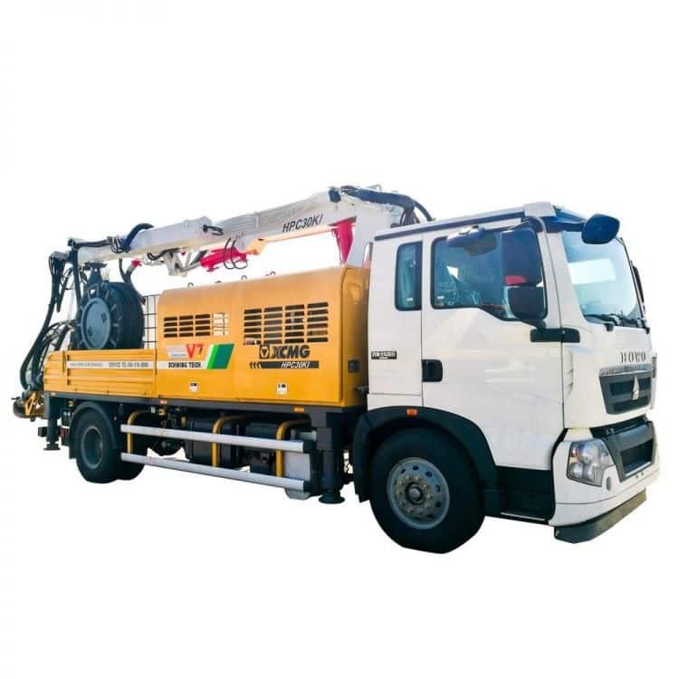 XCMG Official HPC30KI Truck-mounted Concrete Spraying Machine