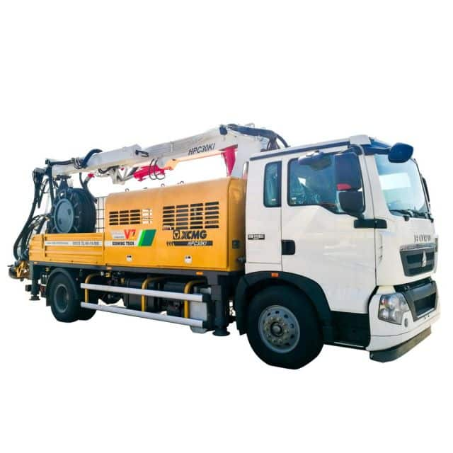 XCMG Official HPC30KI Truck-mounted Concrete Spraying Machine