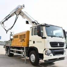 XCMG Schwing 132kW truck mounted concrete spraying shotcrete machine HPC30V with HOWO chassis price