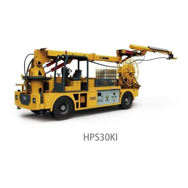 XCMG Manufacturer Truck-Mounted Concrete Spraying Machine HPS30KI for sale