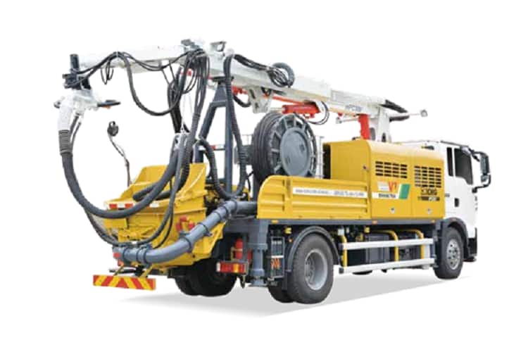 XCMG Officical China top Concrete Machinery HPS30V Truck Mounted Concrete Spraying Machine for sale