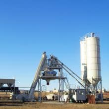 XCMG Factory Cement Plant Machinery HZS120K 120m3/h Complete Cement Batching Plants Price