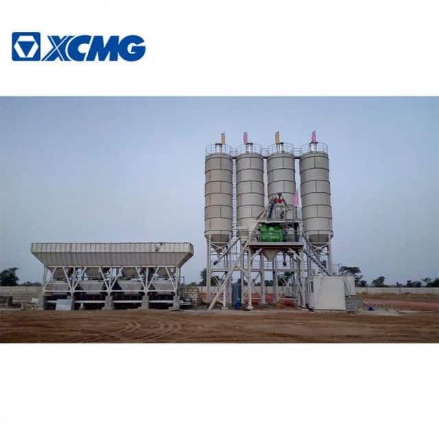 XCMG Official HZS60KG cement plant 60m3 concrete batching plant price for sale