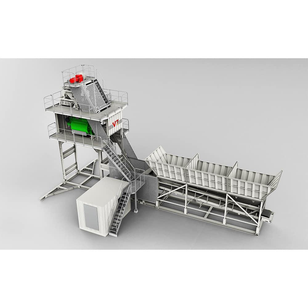 XCMG official HZS90KG Project concrete batching plant for sale