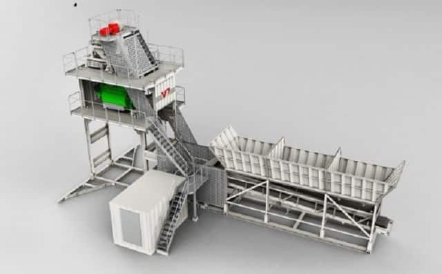 XCMG China High Capacity HZS120VG Concrete Batching Plant 120m3 Good Price for Sale