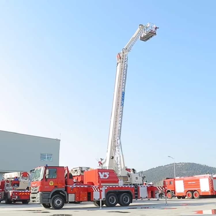 XCMG Official Fire Truck 34m aerial platform fire truck DG34M2 new telescopic platform firefighter truck price for sale