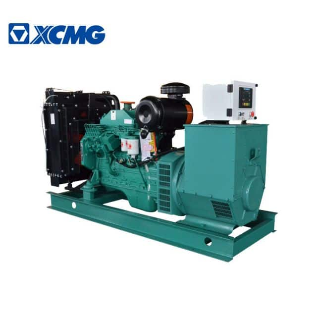 XCMG official 100KW 125KVA China water cooling diesel generator JHK-100GF with Cummins engine price