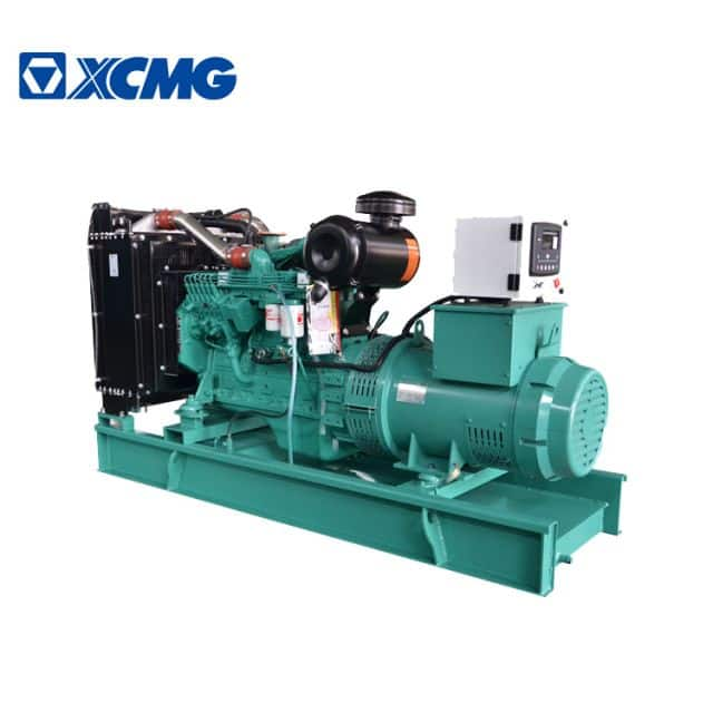 XCMG official 120KW China water cooling silent diesel generator JHK-120GF with Cummins engine price