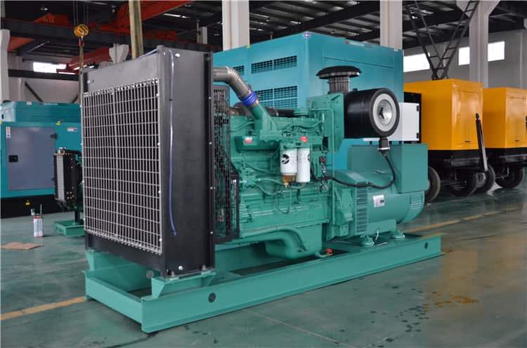 XCMG 300KW 375 kva silent power diesel generator JHK-300GF engine price