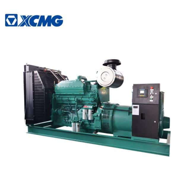 XCMG official 500KW diesel generator JHK-500GF China new silent generator with Cummins engine price