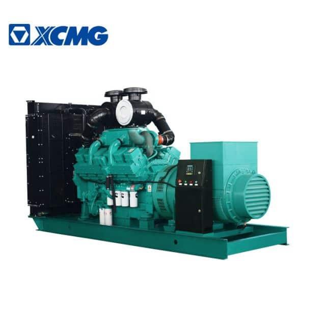 XCMG 600KW silent diesel generator JHK-600GF China new generator with Cummins engine parts price