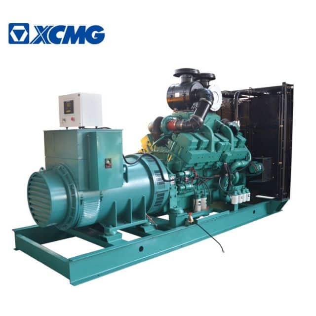XCMG 875KVA diesel generator JHK-700GF China new silent Cummins engine generator with parts price