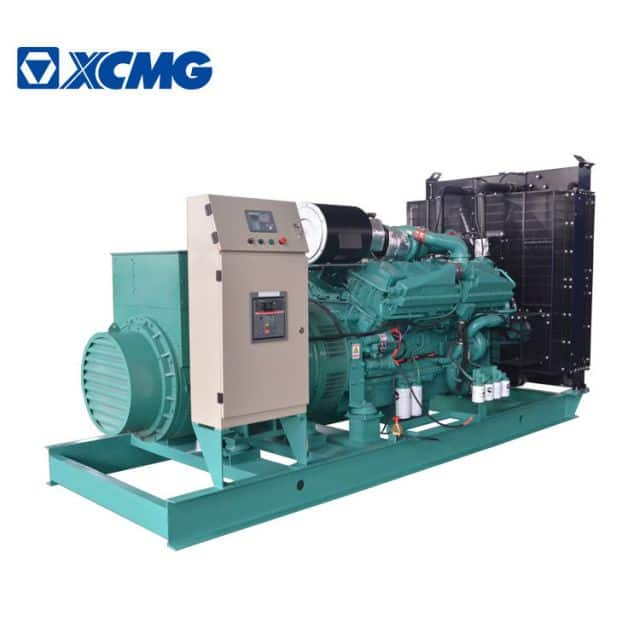 XCMG 1000kva 800kw big size silent diesel generators JHK-800GF for sale