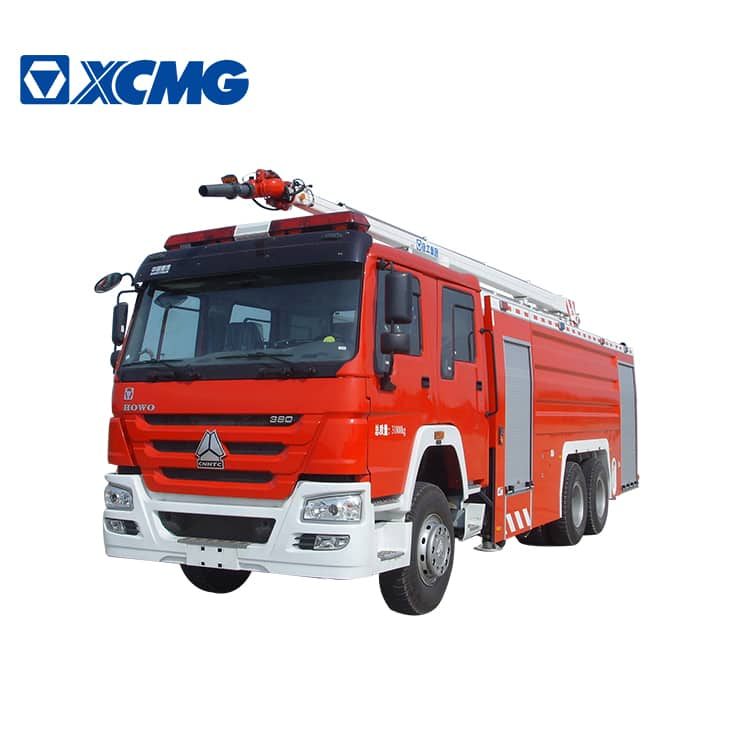 XCMG 20m fire tender trucks JP20C2 water and foam towers fire truck howo chassis for sale