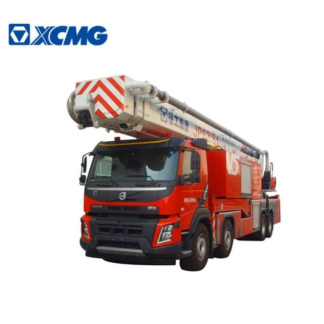 XCMG official 10000 liter water and foam tower fire truck JP62S1 62m fire fighting trucks for sale
