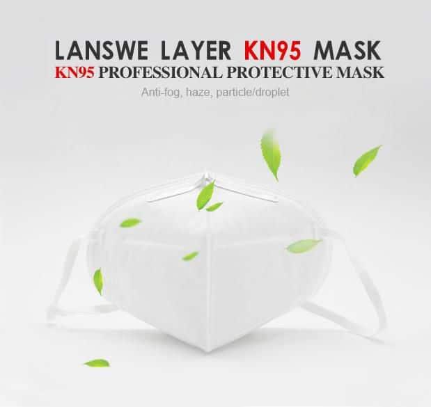 Lanswe Layer KN95 Protective Mask