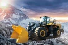 XCMG Official 14 Ton Big Loader Mining Wheel Loader LW1400KN China Loader Tractors for Sale