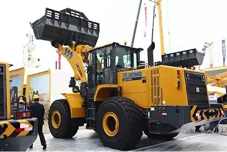 XCMG Official 11 ton mining loader LW1100KV Chinese large mining wheel loader machine price