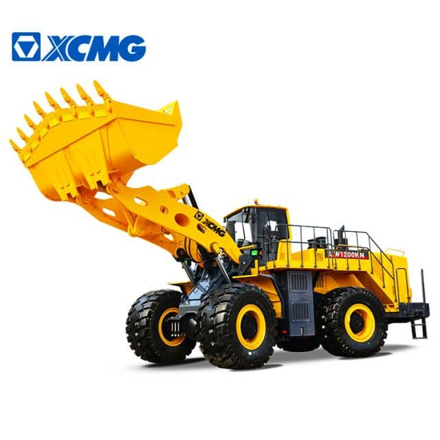 XCMG 12 ton strong large wheel loader LW1200KN mining heavy front loader