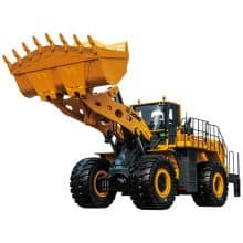 XCMG Official 12 Ton Mining Wheel Loader LW1200KN with Cummnis Engine China Front End Loader Prices