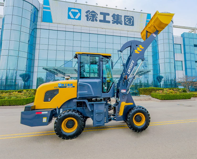 XCMG Official 1 ton articulating mini wheel loaders machine LW156FV made in China
