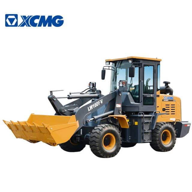 XCMG 1 ton mini Wheel loader LW160FV China Front Wheel Loader price list