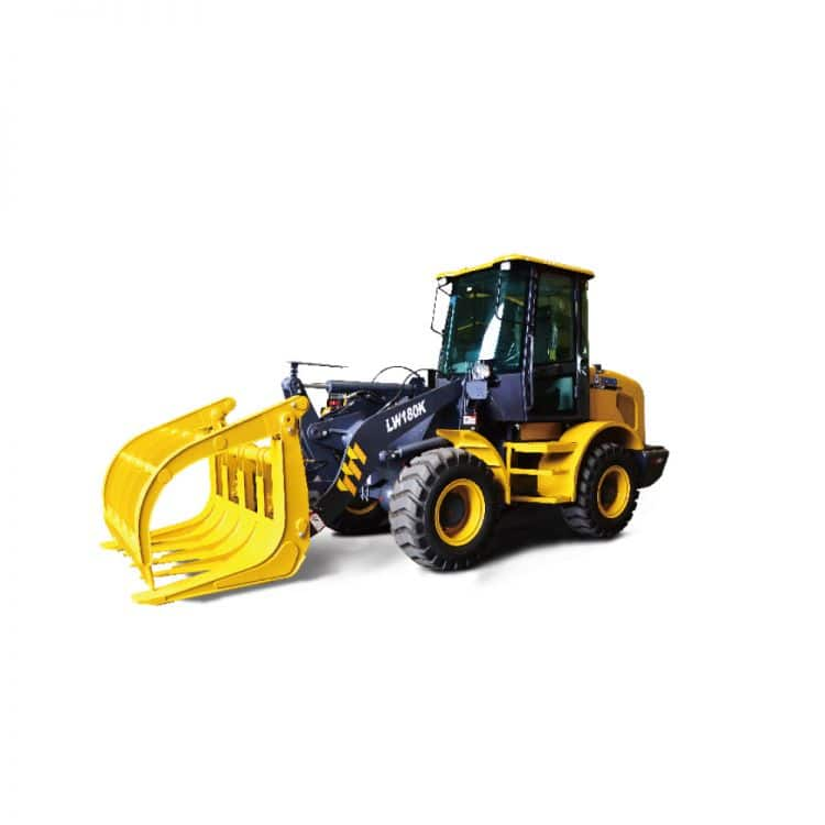 XCMG Official Manufacturer Forestry Clamp Loaders LW180 for sale
