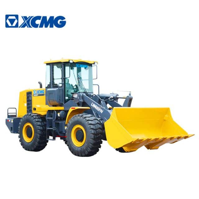 XCMG official 4 ton small wheel loader LW400FN China new compact front wheel loader price