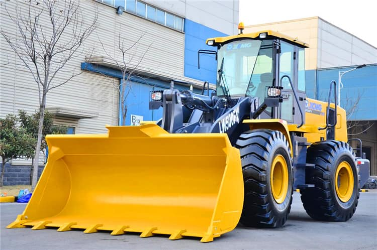 XCMG 5 ton pay wheel loader LW500FN China new payloader machine price