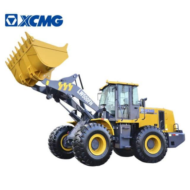 XCMG front end loader LW500FN 5 ton wheel loader price list