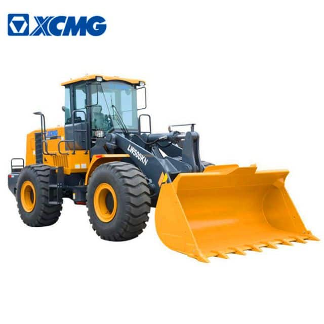 XCMG official new 5 ton loader LW500KN China 3m3 bucket capacity wheel loader with spare parts price