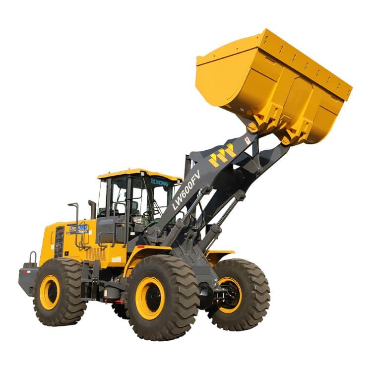 XCMG Official 6 Ton Mining Wheel Loader Machine LW600FV China Front End Loader for Sale