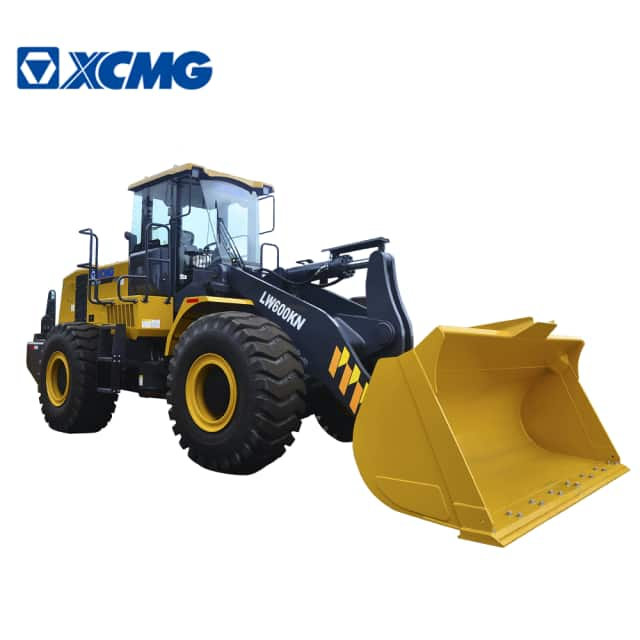 XCMG Official 6 ton wheel loader LW600KN China mining loader wheel machine for sale