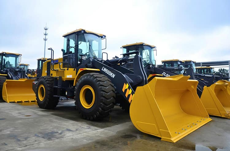 XCMG Official 6 Ton Mining Front End Loader LW600KN China Wheel Loader Price