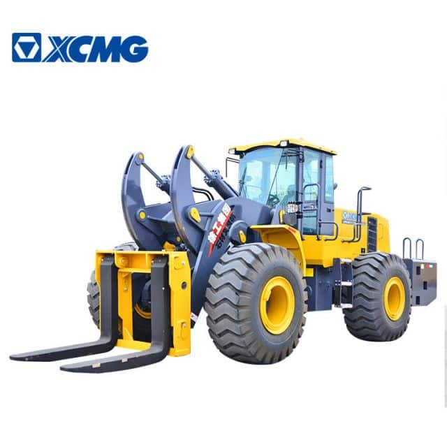 XCMG Official 25 ton forklift wheel loader LW600KV-T25 front wheel forklift loader machine price