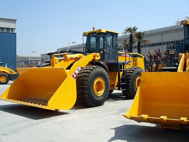 XCMG Official 8 Ton Mining Front Wheel Loader LW800KN China Mining Loader Price