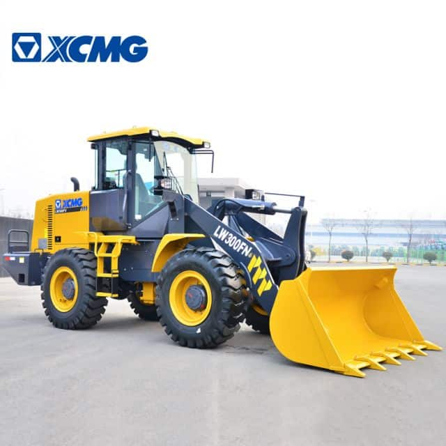 XCMG Official 3t small tractor front wheel loader LW300FN price