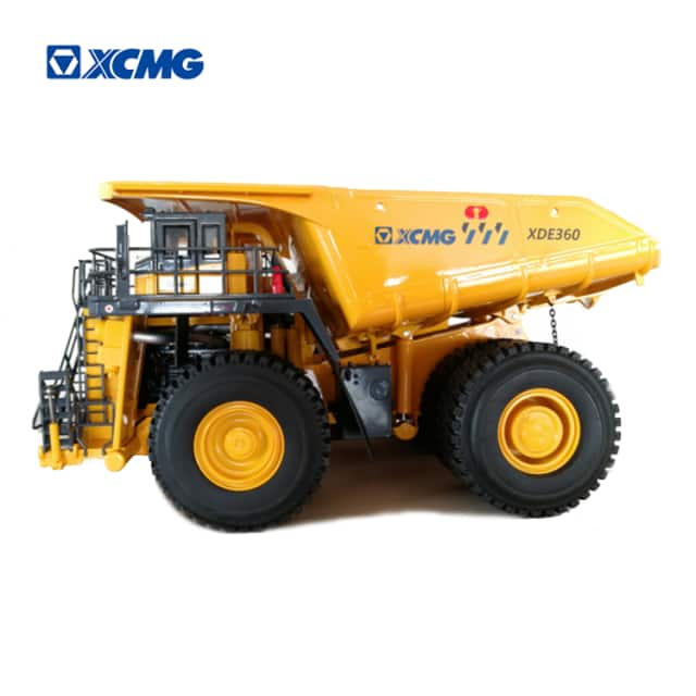 XCMG dump truck XDE360 mining heavy truck metal toy model for sale