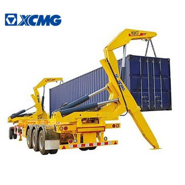XCMG Official Pickup Crane MQH37A Container Side Lifter 37 Ton Pickup With Crane For Sale