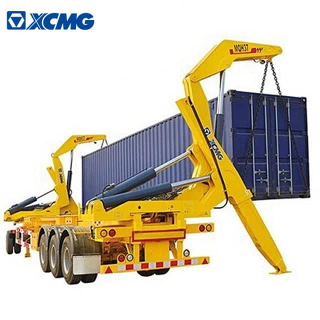 XCMG container side loader 20ft 40ft sidelifter container trailer 37 ton MQH37A container side loader for sale