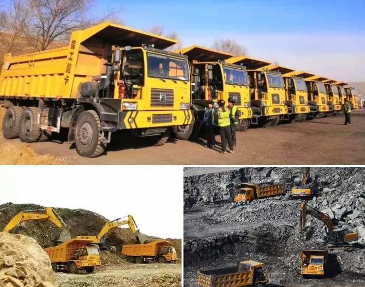 XCMG Official Dump Tipper Truck NXG5550DT for Sale in Uganda
