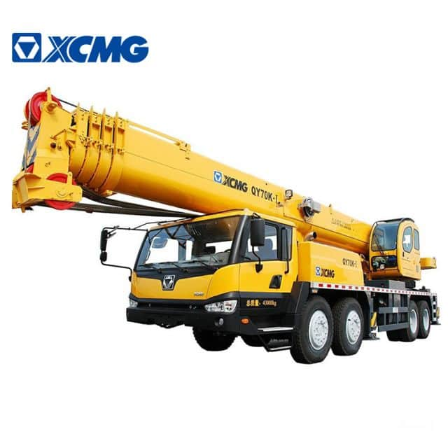 XCMG Official 70 ton truck crane QY70K-I hydraulic rc mobile crane QY70K-1 cranefor sale.
