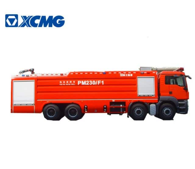 XCMG 8x4 23ton foam fire truck PM230F1 China large new mobile fire fighting truck machine for sale