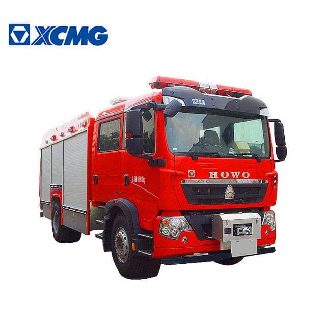 XCMG Official Fire Truck 5 ton water tank foam fire truck PM50F2 new multi-functional firefighter truck price for sale