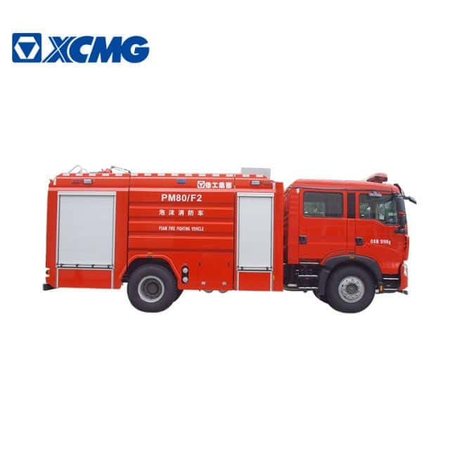 XCMG official 8 ton foam fire truck PM80F2 mobile fire fighting equipment price