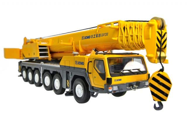 XCMG All-Terrain Crane QAY200 Model (1:50)